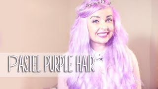 How to dye your hair pastel lilac/ lavendar/ violet