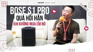 Loa Bose S1 Pro Chính Hãng - Loa Di Động Karaoke Mới Nhất