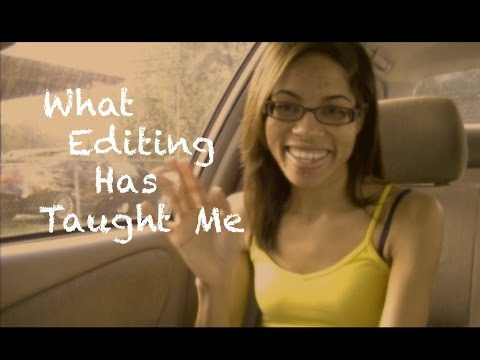 Self Publishing: What Editing Has Taught Me