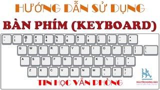 Hướng dẫn sử dụng bàn phím máy vi tính   How To Use Keyboard   Tin học văn phòng - Nguyễn Hoàng Anh