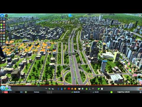 cities skylines showcase my 150k city perfectia youtube. Black Bedroom Furniture Sets. Home Design Ideas