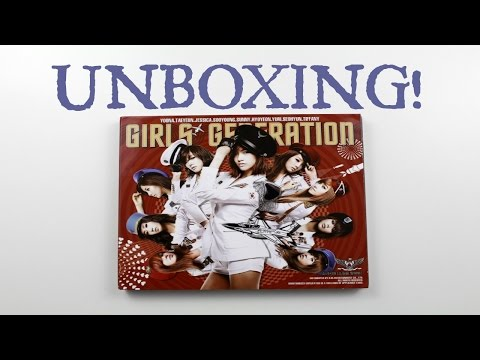 Girls' Generation Tell Me Your Wish(Genie) Unboxing! [소녀시대]