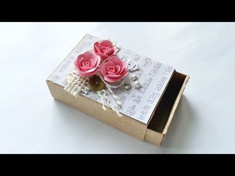 How To Create A Decorative Vintage Matchbox - DIY Crafts Tutorial - Guidecentral