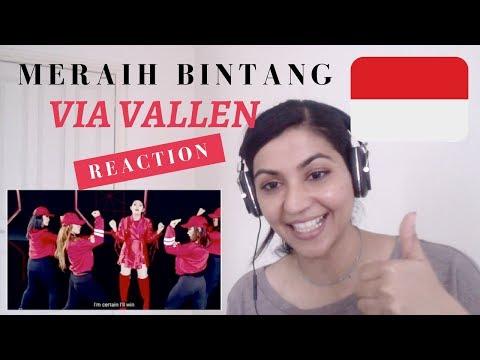 Via Vallen - Meraih Bintang - Official Theme Song Asian Games 2018 - Reaction Video