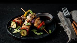 Chicken & Vegetable Kebobs