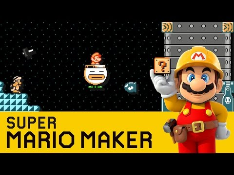 Super Mario Maker - Choo Choo Goes Home