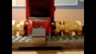 Mój kombajn Bizon z lego-Maszyny Rolnicze 1#
