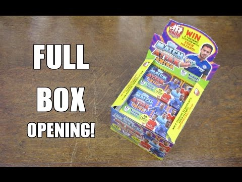 Match Attax Extra 2016 BOOSTER BOX OPENING! 50 PACKS!