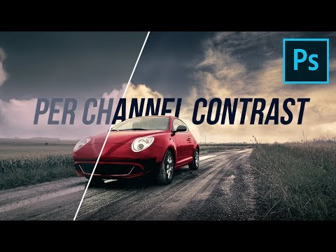 "Use ""Per Channel Contrast"" for Impact in Photoshop!"