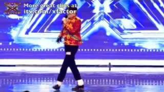 Michael Lewis - Michael Jackson Impersonator X Factor Audition - Funny X Factor Audition thumbnail