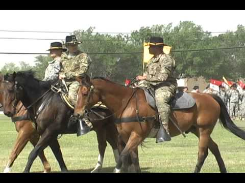 1st Cavalry Division Change of Responsiblity