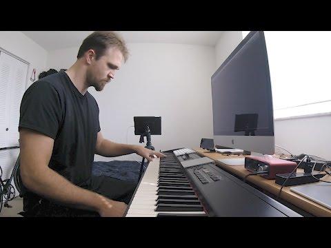 HBO's Westworld S1E7 Credits (Trompe L'Oeil) - Clyde Piano
