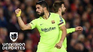 Manchester United 0-1 Barcelona – GOL Y RESUMEN – IDA CUAR…