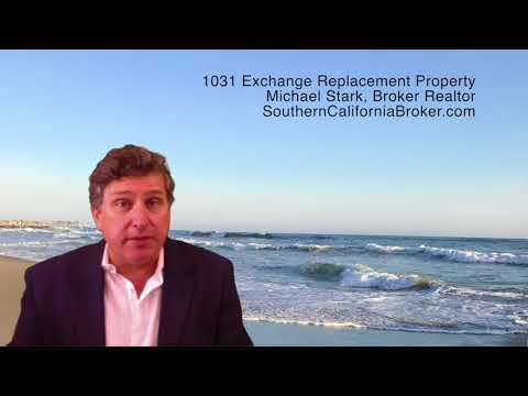 Southern California 1031 Exchange Replacement Property Deals, 1031 Like Kind Exchange Strategies