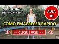 Download Programa Desafio Vip 60 [Aula 01] Cris Senna, Como Emagrecer Rápido MP3 song and Music Video