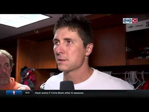 Reds' Homer Bailey jokes that his recent bad starts will prevent overconfidence