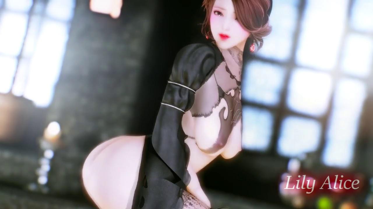 Skyrim Xbox One UNP Nude - YouTube