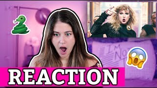 Taylor Swift - Look What You Made Me Do Official Video REACTION
