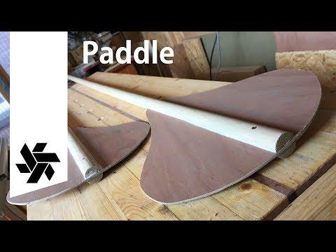 Simple DIY Paddle // SUP Surf Board