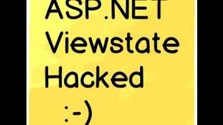 c#,ASP.NET Viewstate hacking