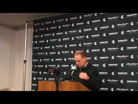 Tom Izzo previews Michigan State vs. Indiana