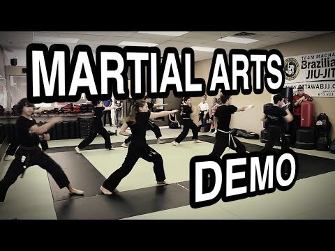 Team Alliance - Martial Arts Demo