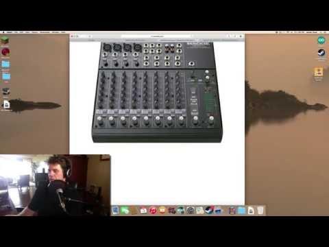 Plugging a Mackie Mixer Into an iMac