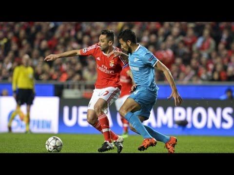 Benfica vs Zenit 1-0 All Goals & Highlights Champions League 16/2/2016 HD 1080p