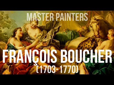 François Boucher (1703–1770) A collection of paintings 4K