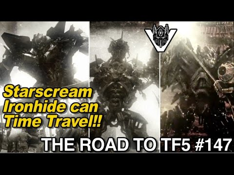 STARSCREAM and IRONHIDE are time travellers?? - [THE ROAD TO TF5 #147]