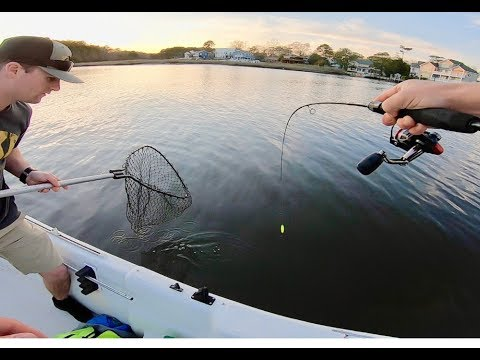 MICRO FISHING SALTWATER CREEKS Catching Flounder And Trout