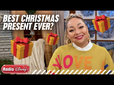 Best Christmas Present Ever? | Holiday's Unwrapped | Radio Disney