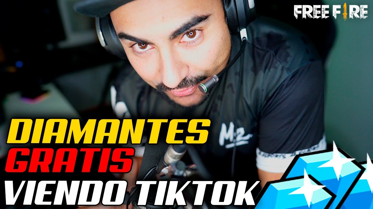 COMO OBTEN DIAMANTES GRATIS DE FREE FIRE VIENDO VIDEOS DE TIKTOK