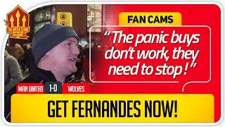 GET BRUNO FERNANDES! Manchester United 1-0 Wolves FanCam