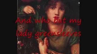 Greensleeves (with lyrics)