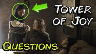 THE TWO THINGS OVERLOOKED IN THE TOWER OF JOY SCENES (Game of Thrones)
