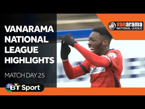 Vanarama National League Highlights Show  Matchday 25 New Flash Game