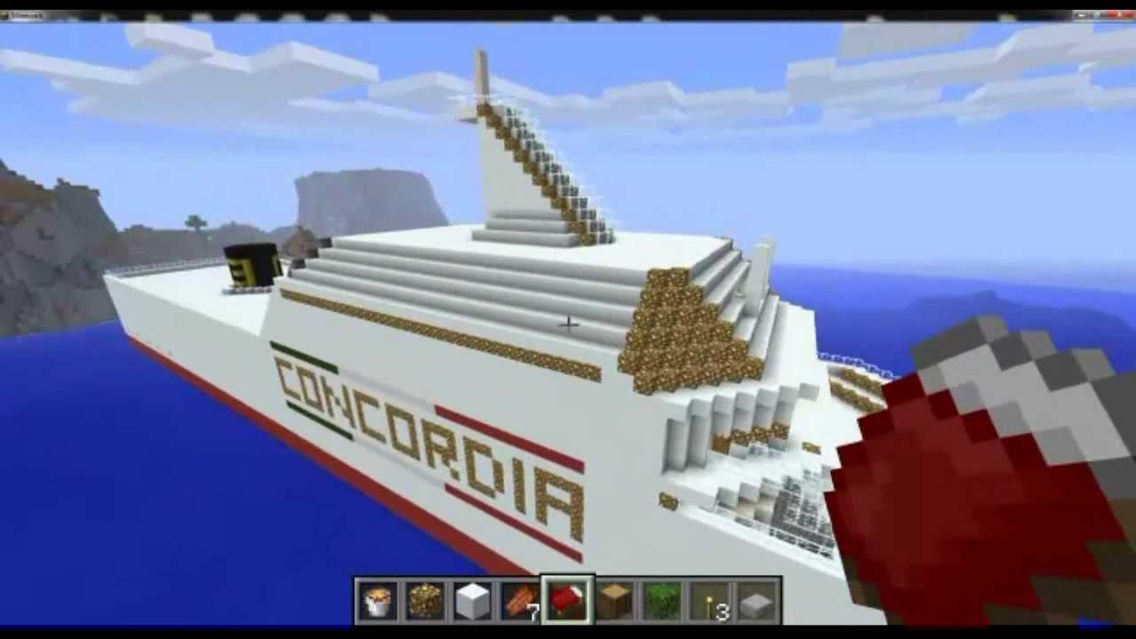 Minecraft la nave pi grande del mondo youtube for La villa piu grande del mondo