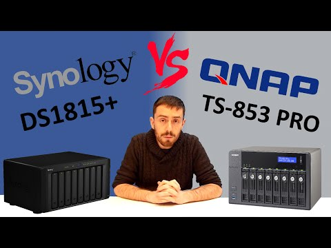 The Synology DS1815+ VS QNAP TS-853 PRO - The Big NAS 8-Bay Faceoff!