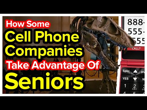 How Cell Phone Companies Take Advantage Of Seniors