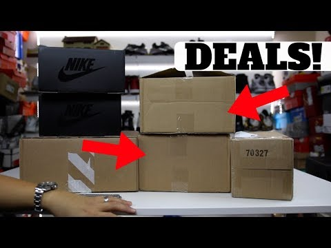 HAPPY UNBOXING 😃StockX Steals! & SURPRISE LIGHT UP SNEAKERS!!