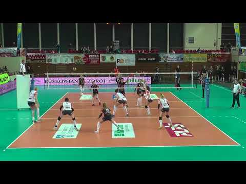 Magdalena Gryka SETTER Polish League 2017-2018 nr 11 white shirt