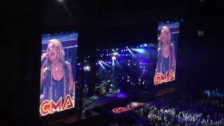 carrie underwood something in the water cma fest 2016