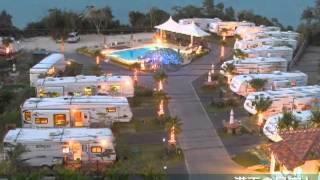 トレーラーハウスを利用した沖縄リゾート「BanianResort」