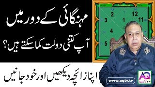 How much Money in your life? (Explanation according stars) | Astrologer Shah Zanjani | AQ TV