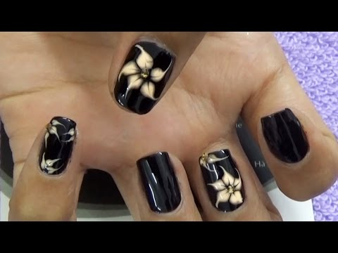 Móng tay đẹp, mẫu nail đẹp, vẽ gel họa tiết loang, vẽ hoa văn gel vẽ lên móng tay