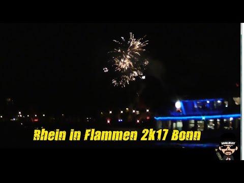 Rhein in Flammen 2017 Bonn Großfeuerwerk