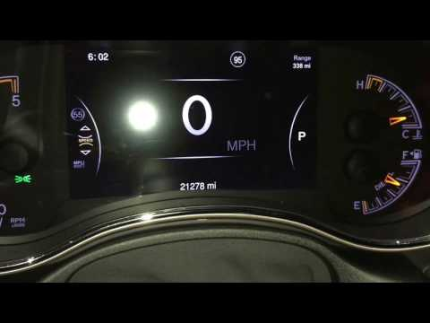Jeep Digital Dash Gauges