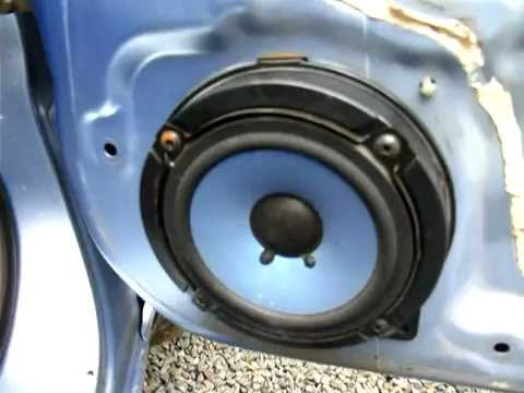 Honda Jazz & Fit door speaker removal - YouTube