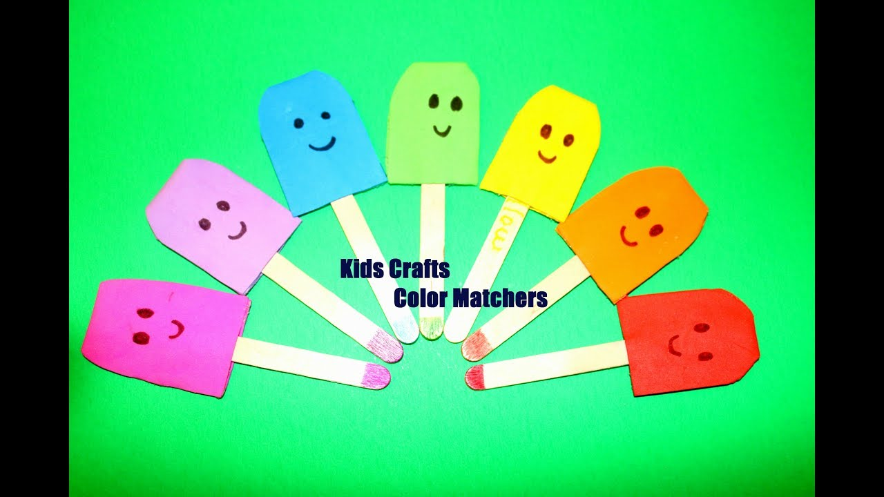 Home Activity: Color Matching Activity Game for kids - YouTube